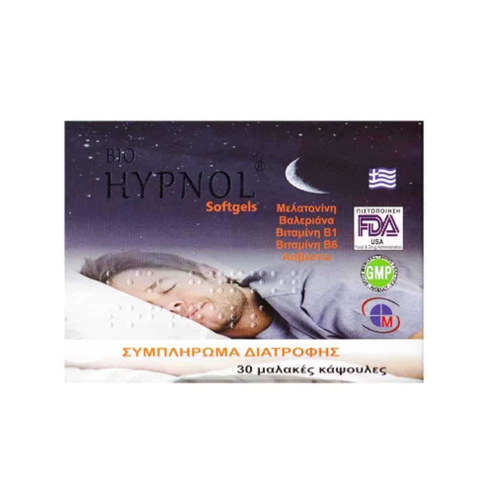 bio-hypnol 30 softgels ΑΥΠΝΙΑ