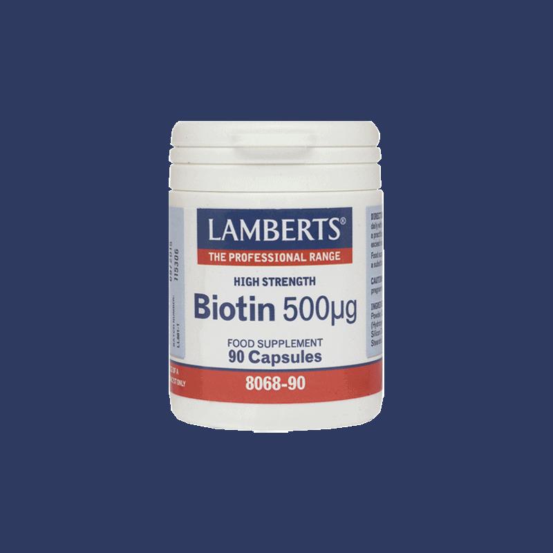 lamberts Biotin 500μg