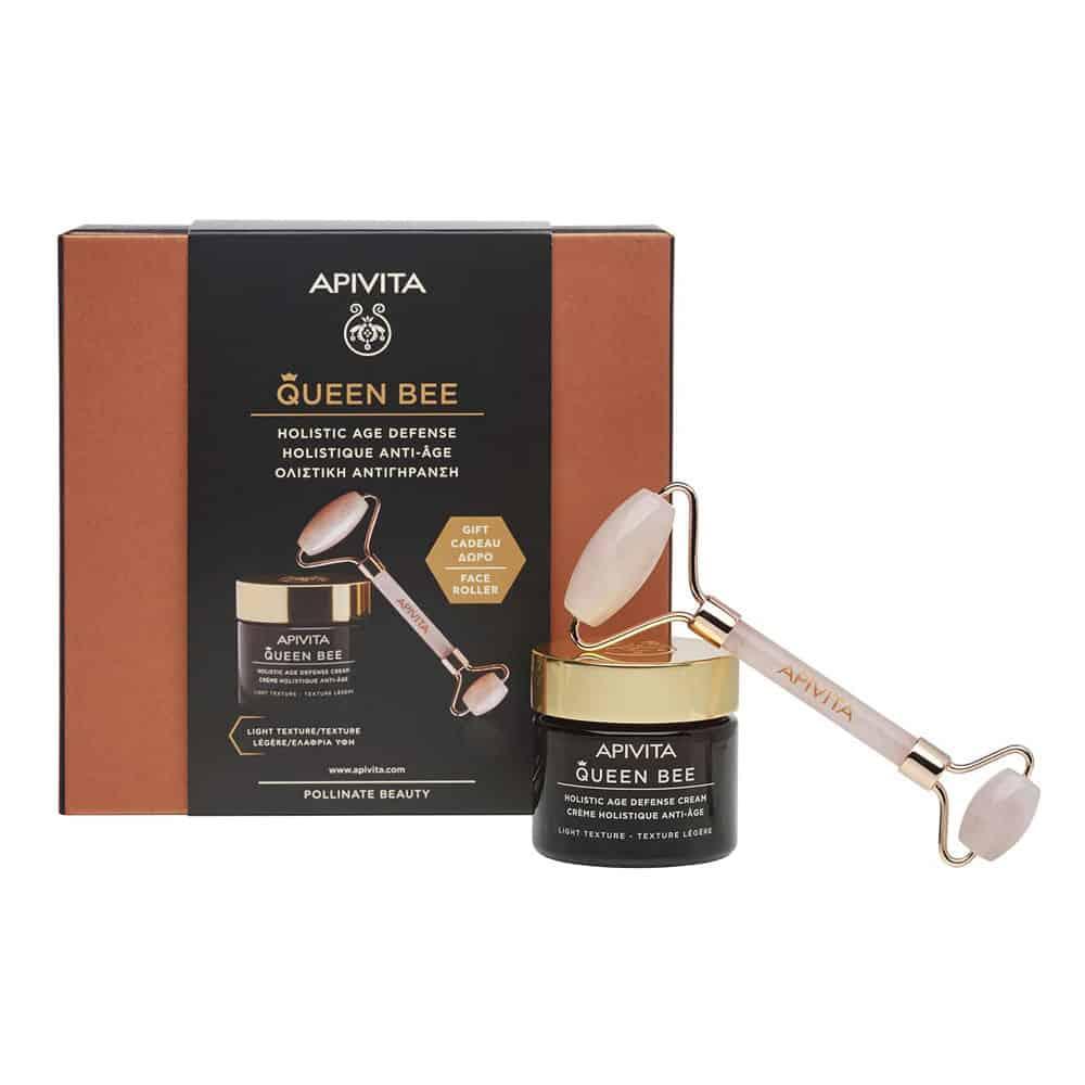 Apivita Set Queen Bee Light Gift Roller