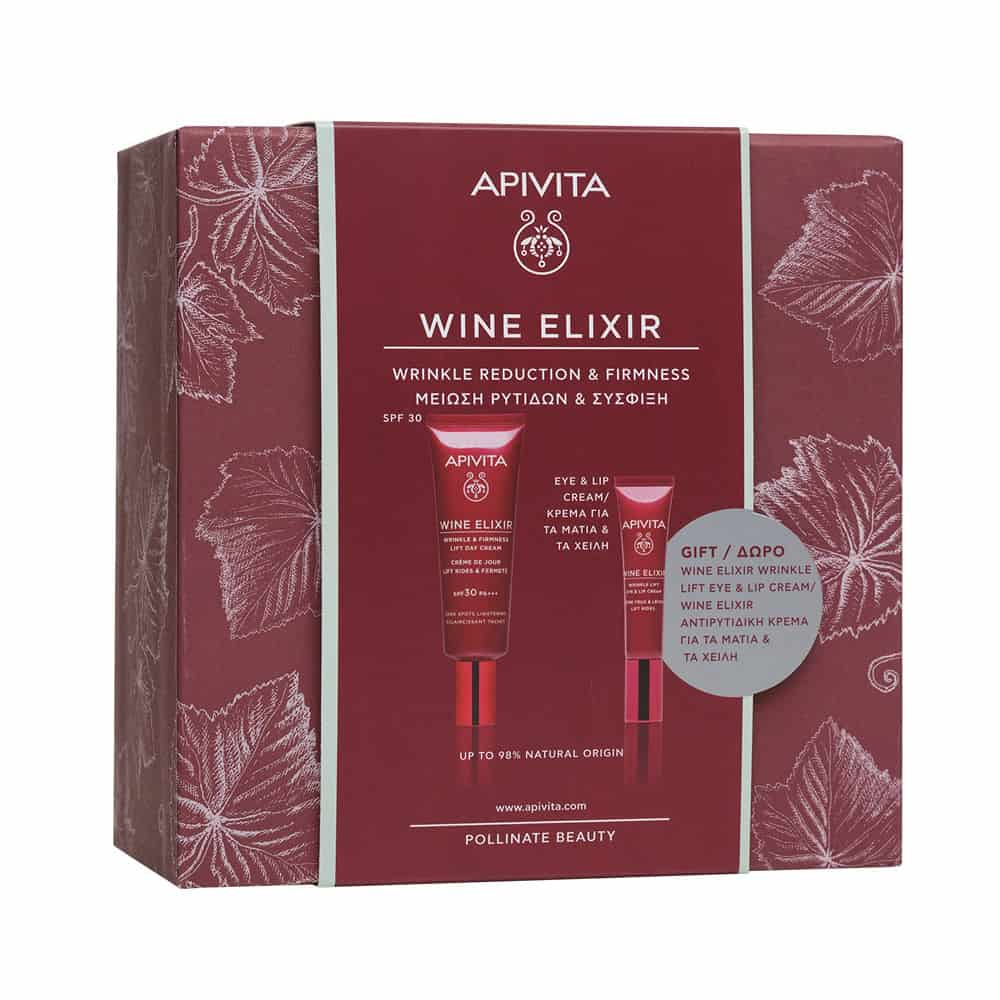 Apivita Wine Elixir spf 30 Gift Wine Elixir Eyes