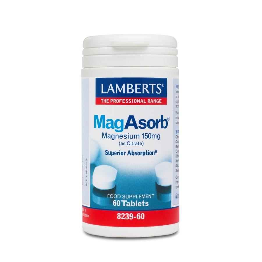 Lamberts MagAsorb 150mg 60tabs