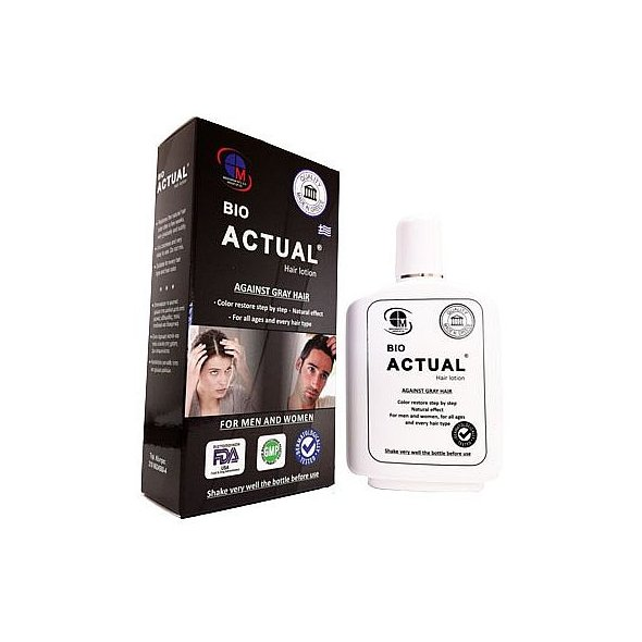 Medichrom Bio Actual Hair Lotion 150ml Γκριζα Μαλλια