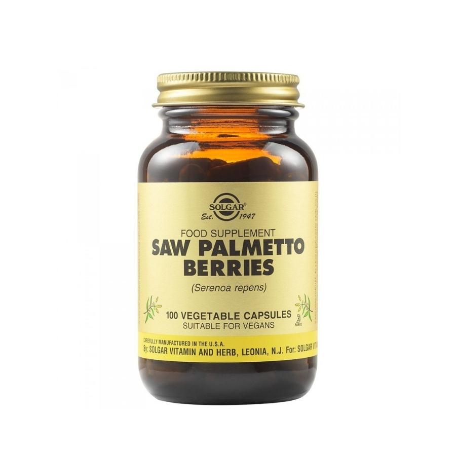 ΠΡΟΣΤΑΤΗΣ Solgar Saw Palmetto Berries,100caps (1)