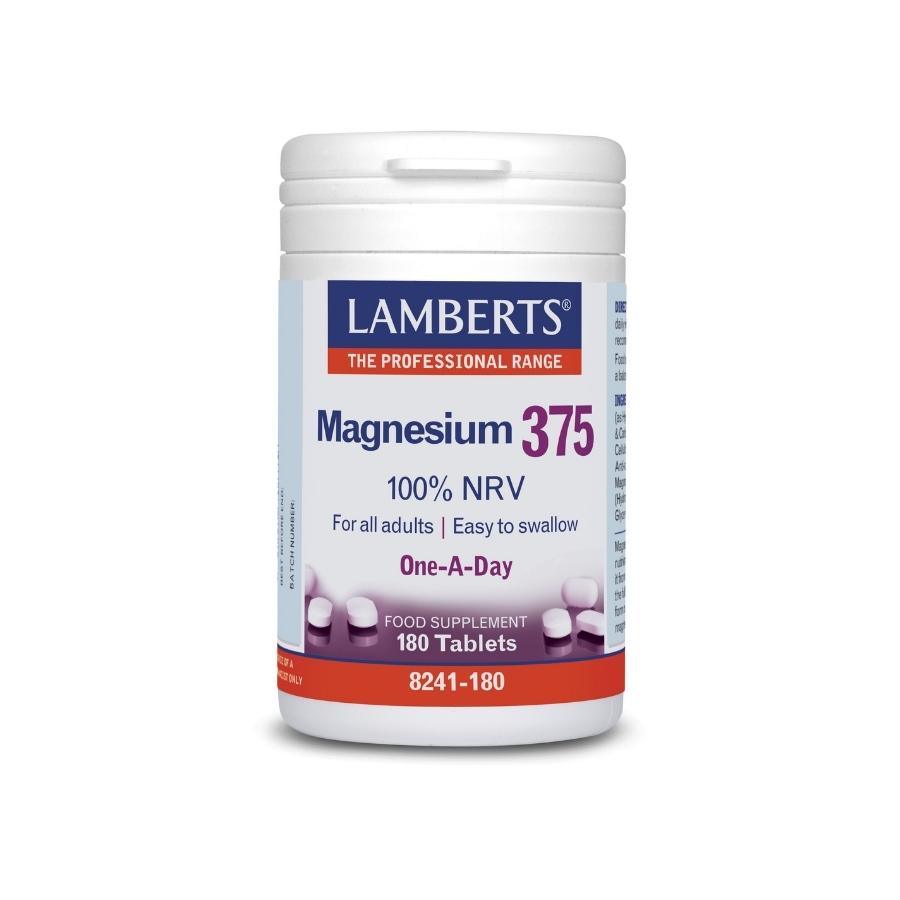 lamberts magnesium 375 180tabs