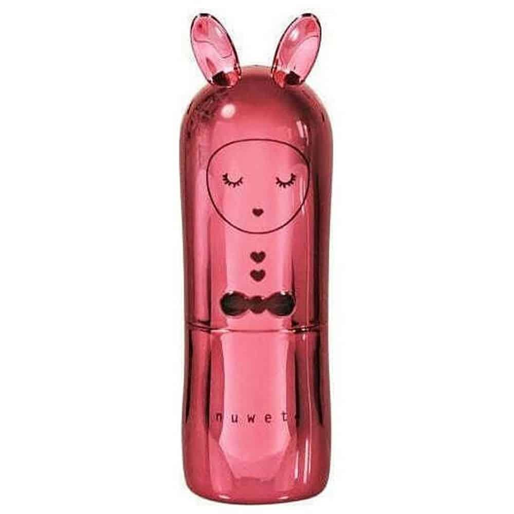 INUWET Vegan Bunny Metal Red Lip Balm 3.5gr