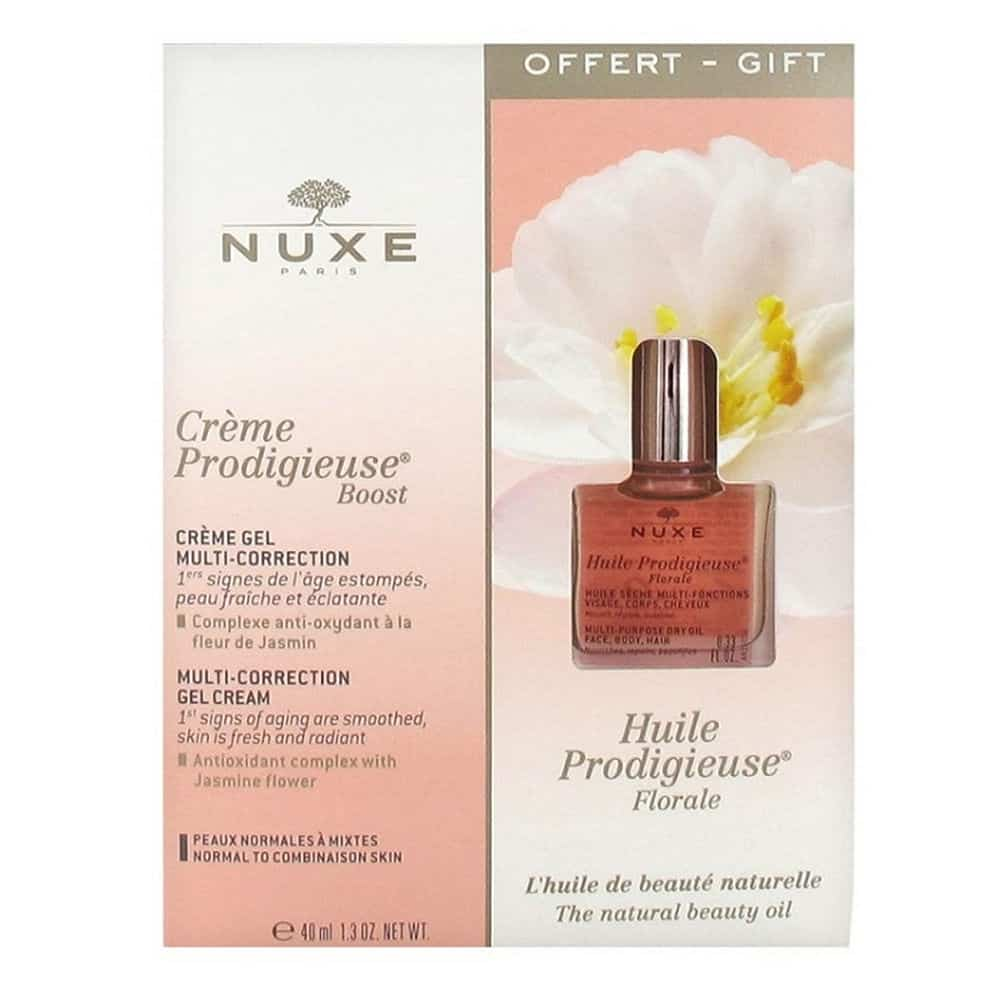 Nuxe Set Creme Prodigieuse Normal Mixtes And Beauty Oil