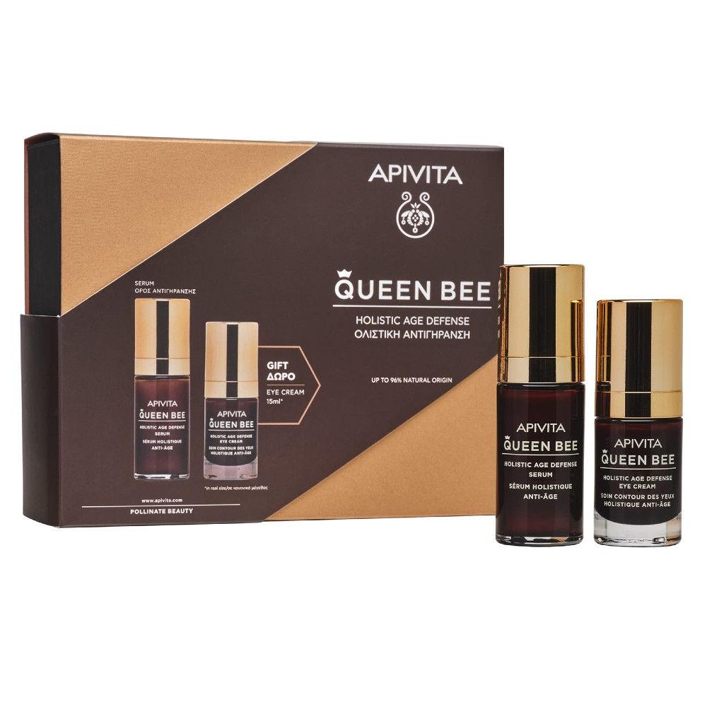 Apivita Promo Queen Bee Serum 30ml Doro Eye Cream 15ml