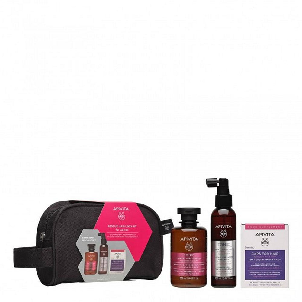 Apivita Rescue Hair Loss Kit For Women