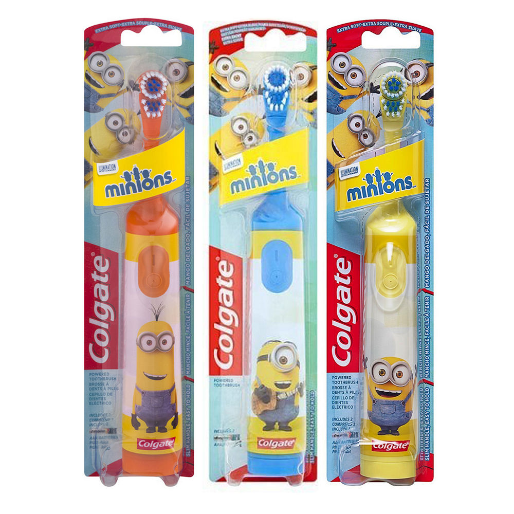 Colgate Kids Minions Toothbrush With Battery