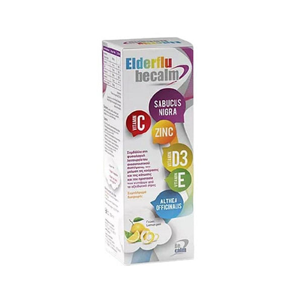 Elderflu Becalm Food Supplement 250ml