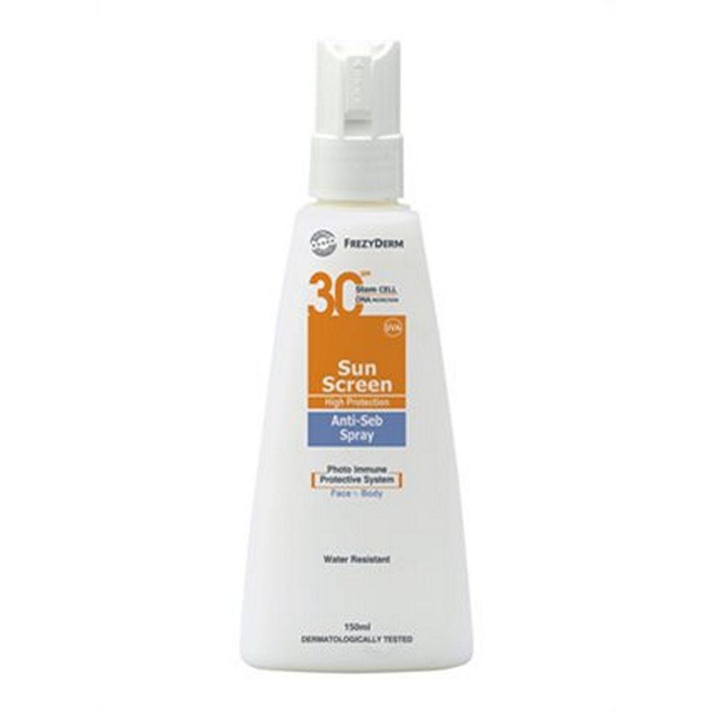 Frezyderm Sun Screen Anti-Seb Spray 150ml