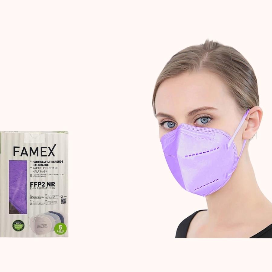 Famex Particle Filtering Half Mask FFP2 NR grey (1)