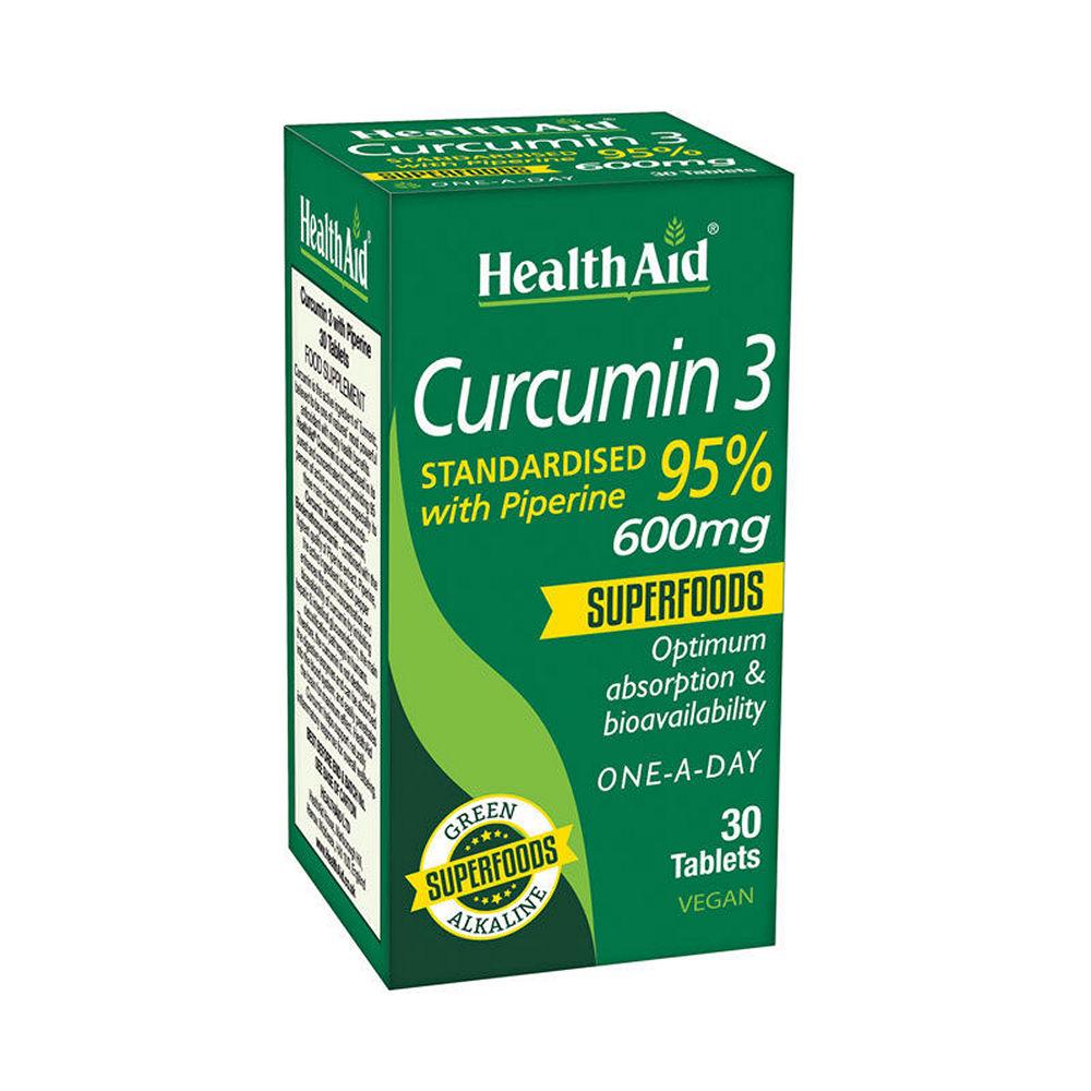 Health Aid Curcumin3 30tablets