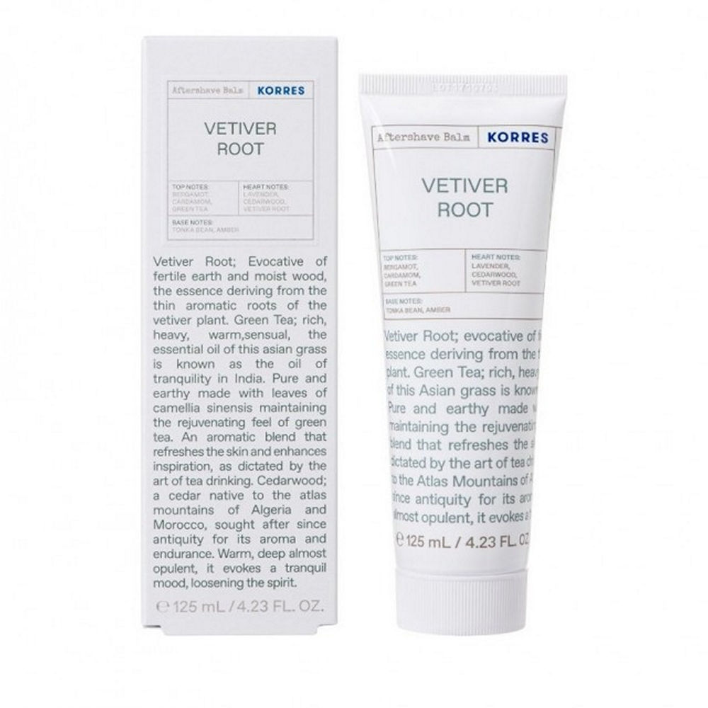 Korres Vetiver Root Aftershave 125ml
