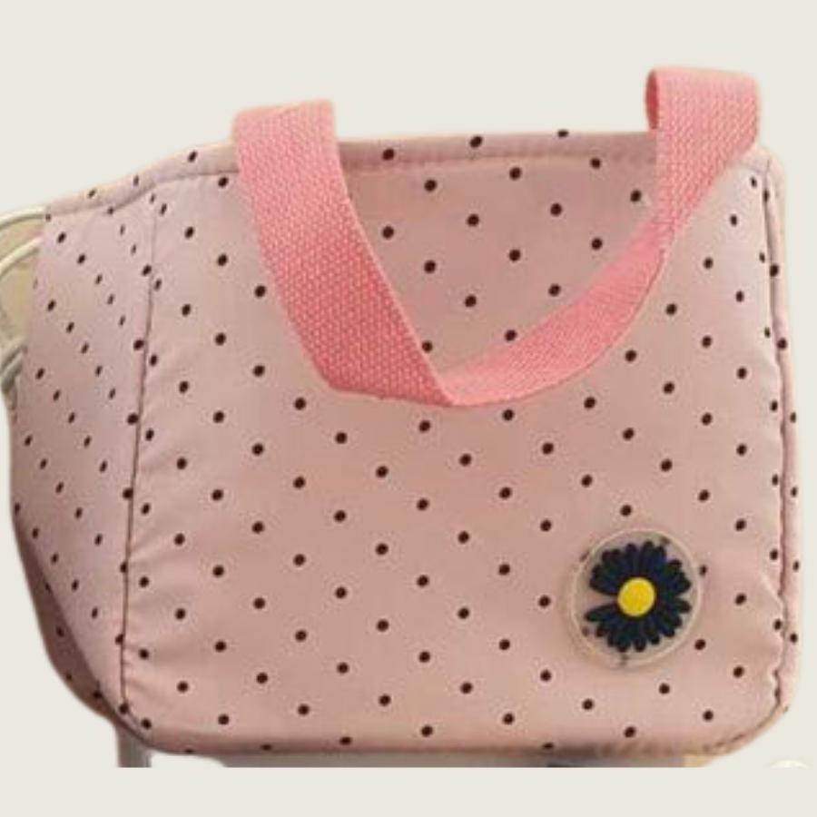 LUNCH BAG ROSE DOTS