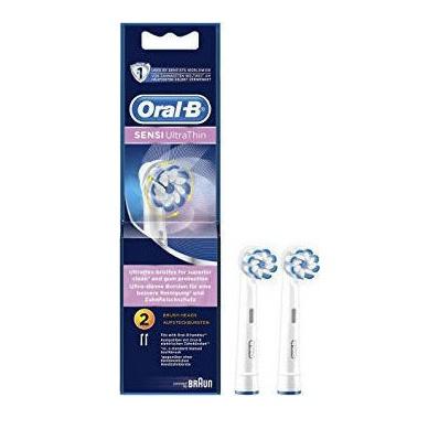 Oral-B Sensi Ultra Thin Ανταλλακτικά Ηλεκτρικής Οδοντόβουρτσας 2τμχ