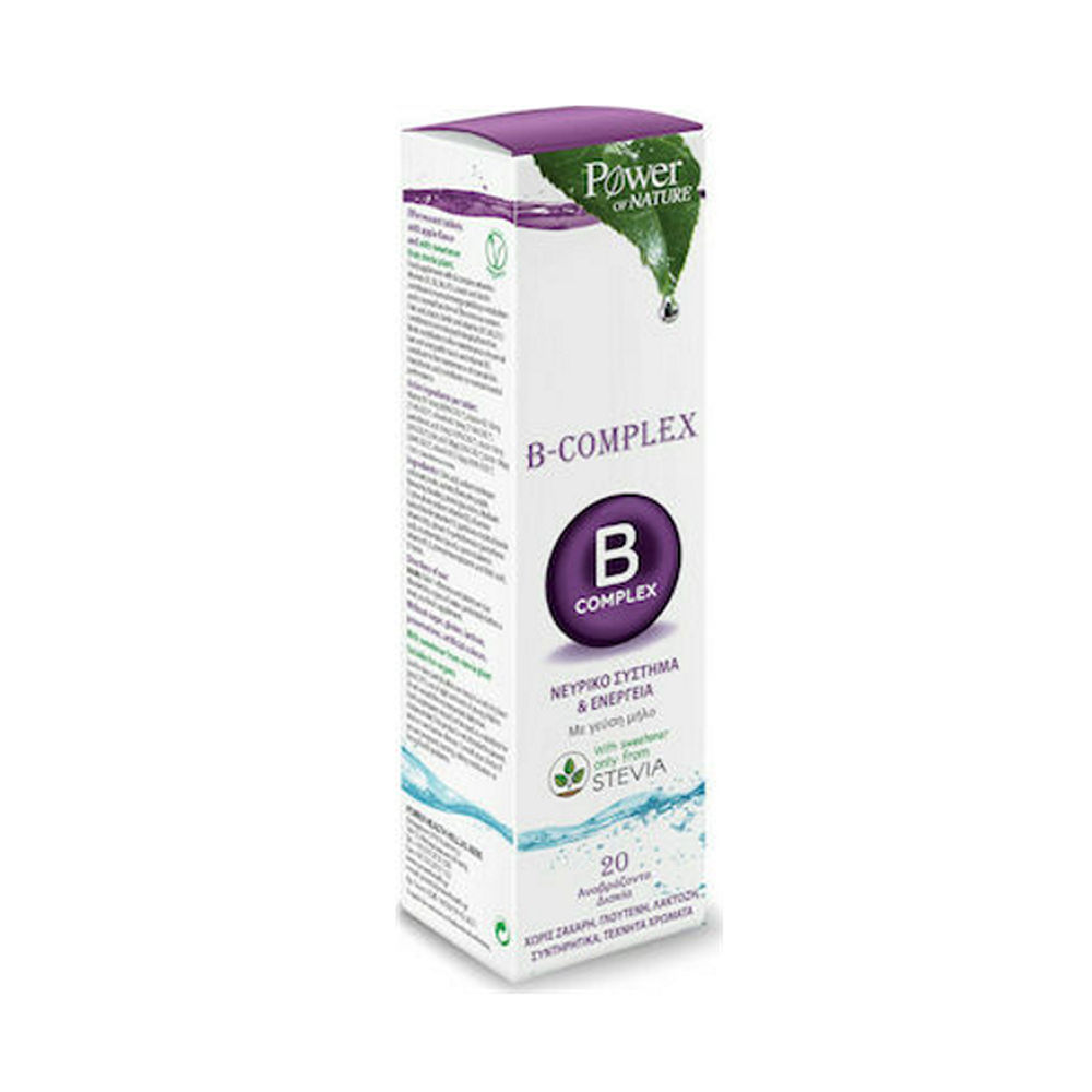 Power Health Power Of Nature B-Complex 20tablets