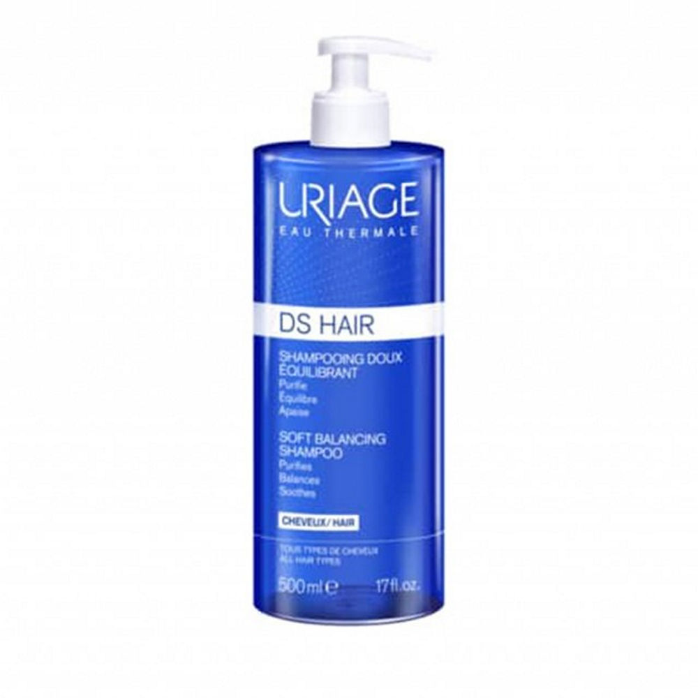 Uriage DS Hair Soft Balancing Shampoo 500ml