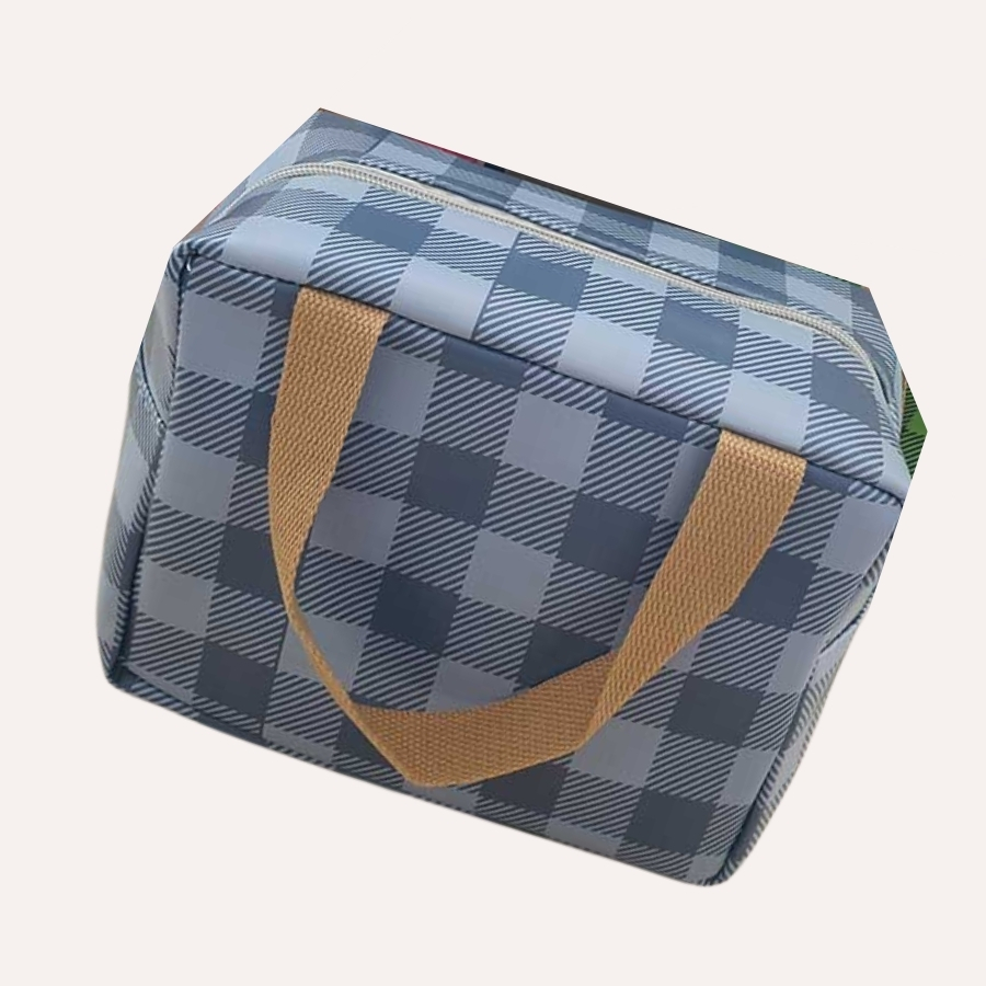 spacecow lunch box blue