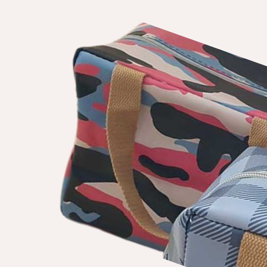 spacecow lunch box multicolor