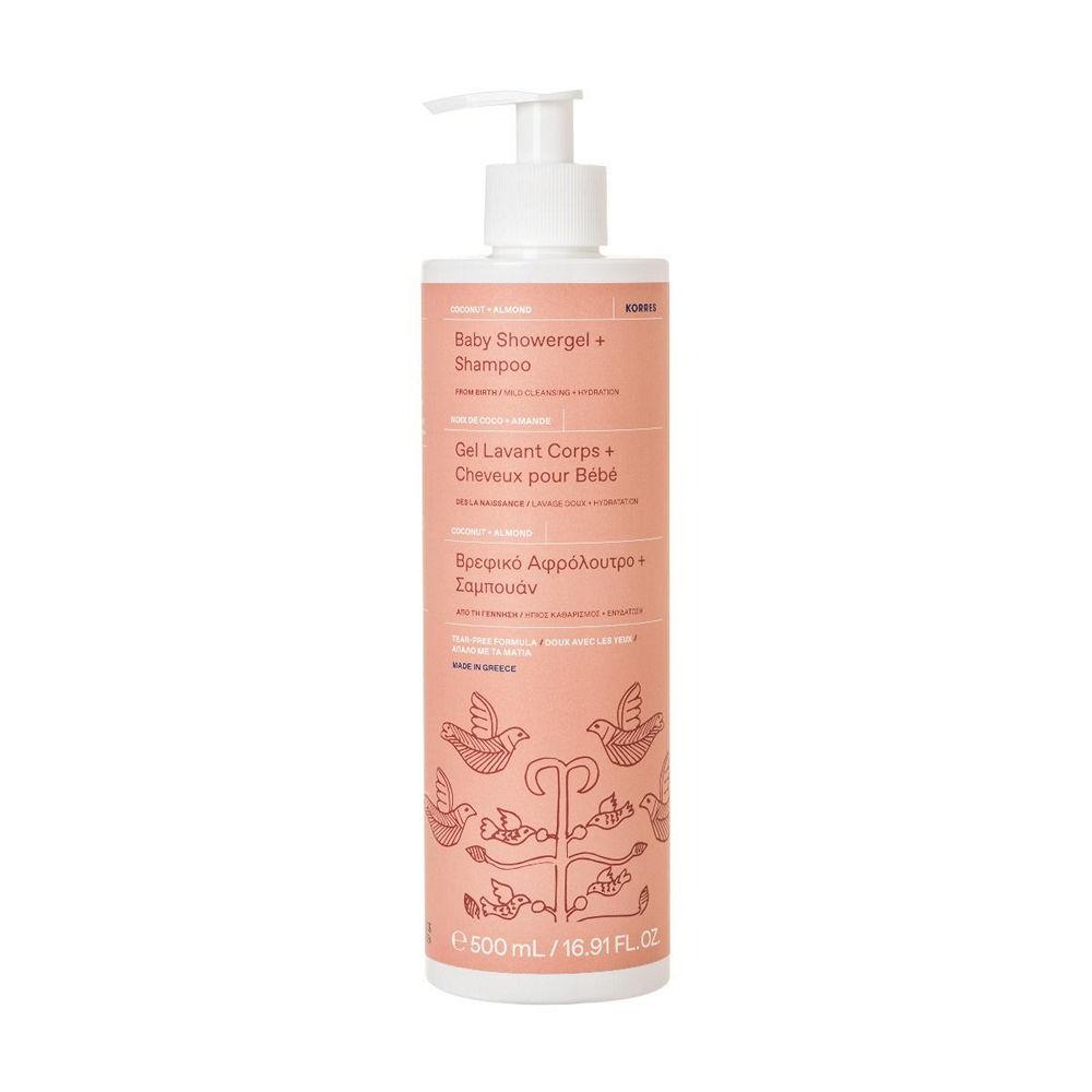 Korres Baby Shower Shampoo Coconut Almond 500ml