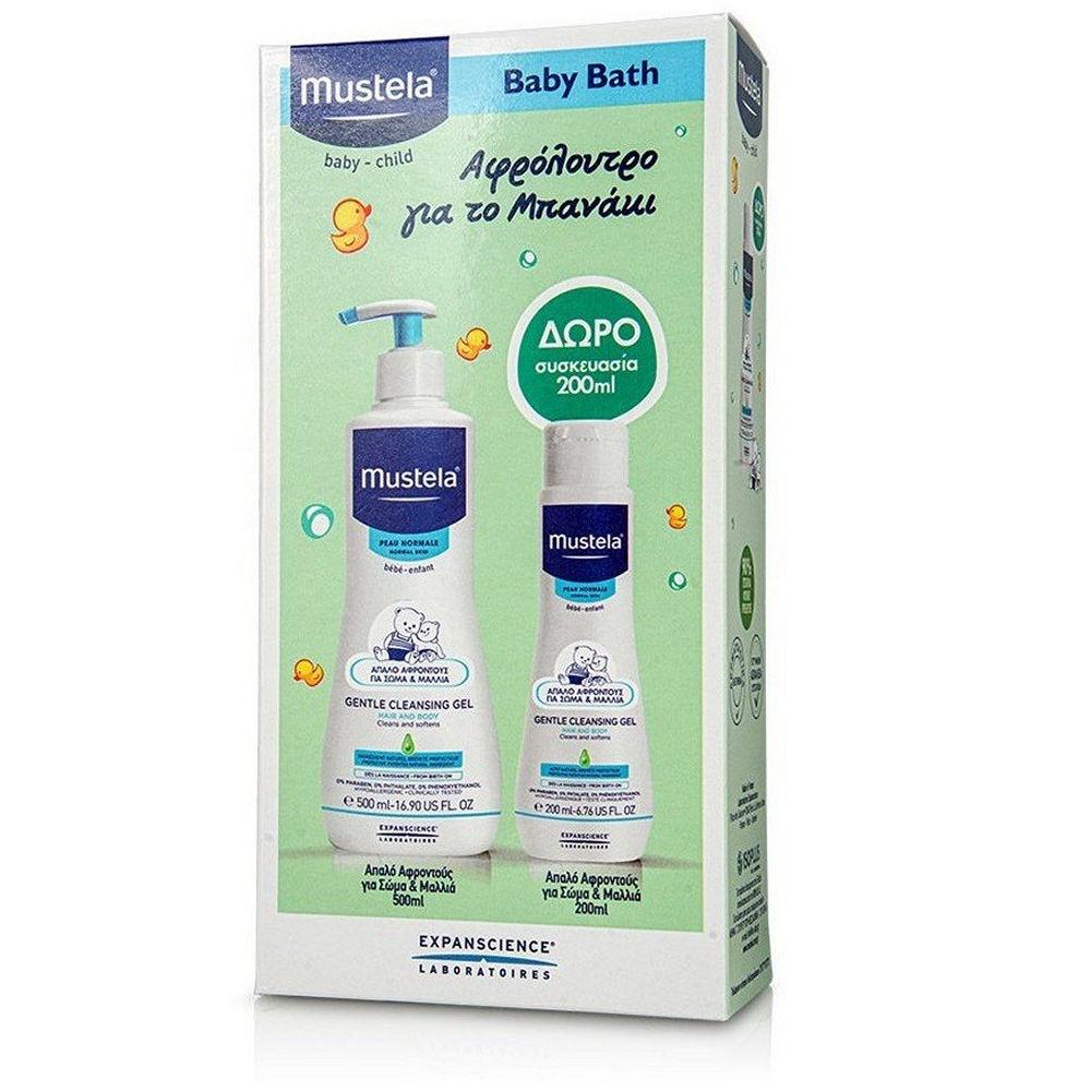 Mustela Gentle Cleansing Gel 500ml Gift Gentle Cleansing Gel 200ml