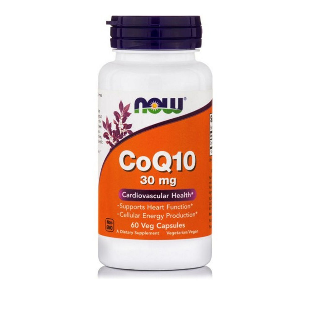 Now Foods Συνένζυμο CoQ10 30mg 60Veg Capsules