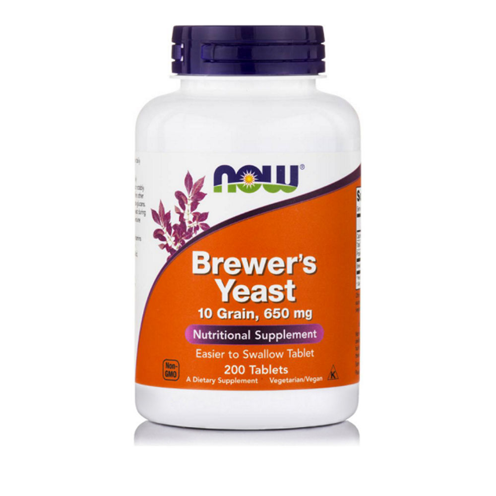 Now Foods Brewer's Yeast 650mg 200Tablets