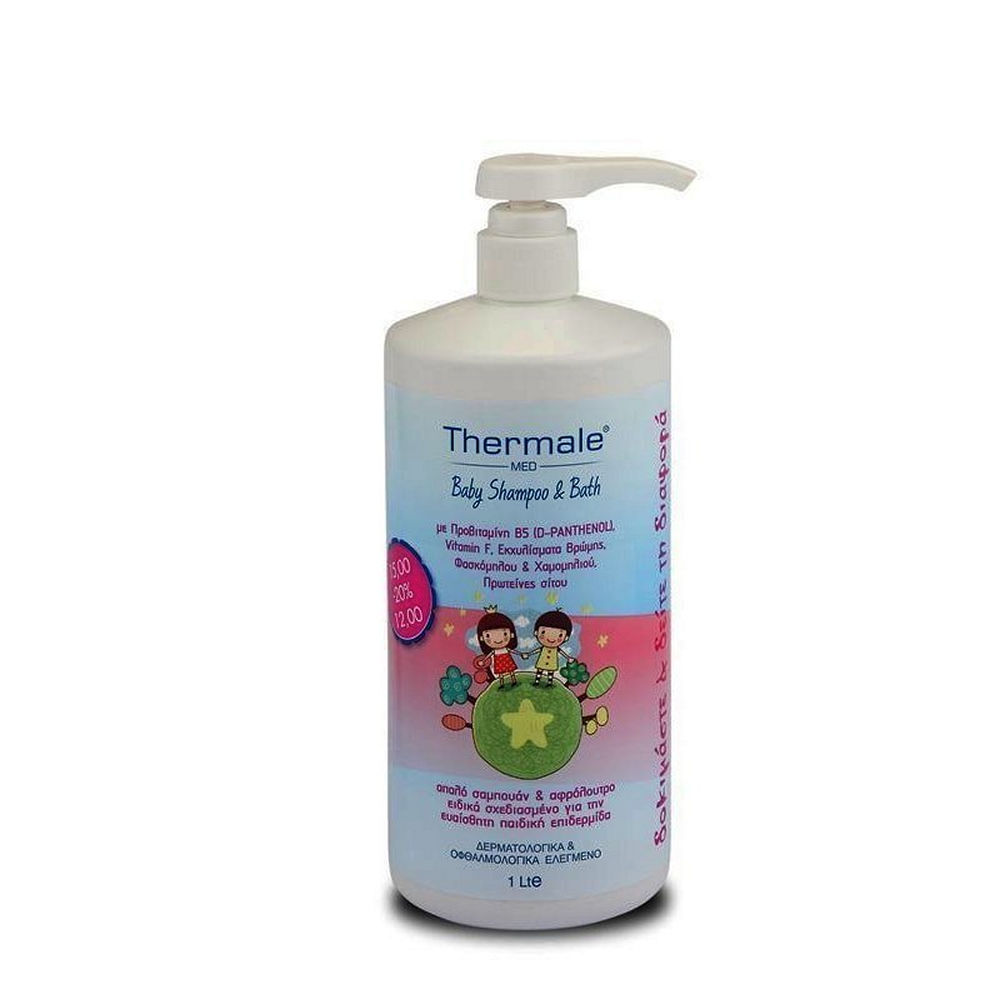 Thermale Med Baby Shampoo And Bath 1000lt