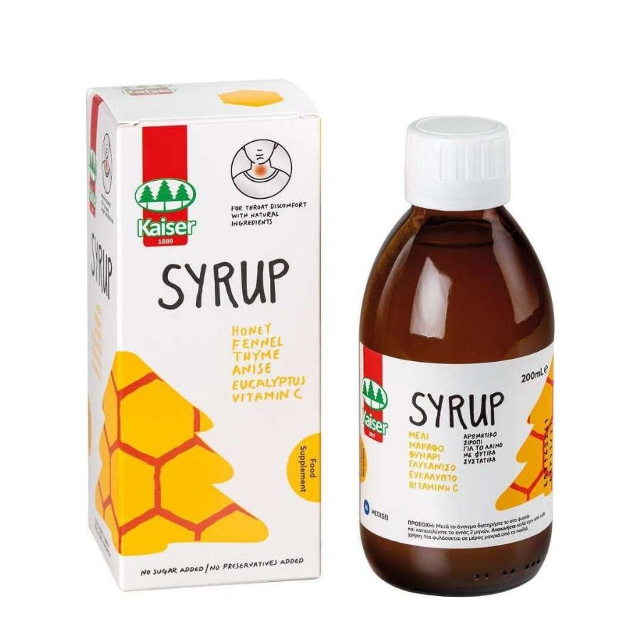 kaiser syrup vitamin C