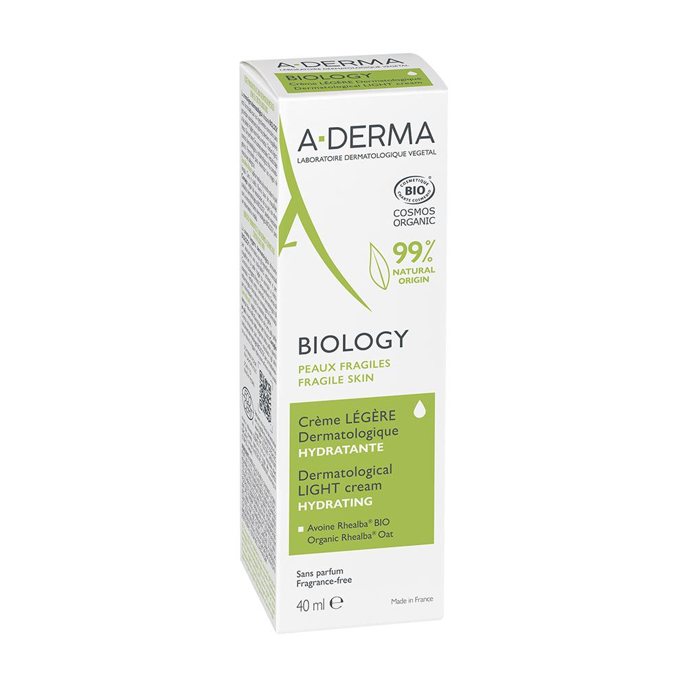 Aderma-CremeLegere-Hydratante 40ml Biology