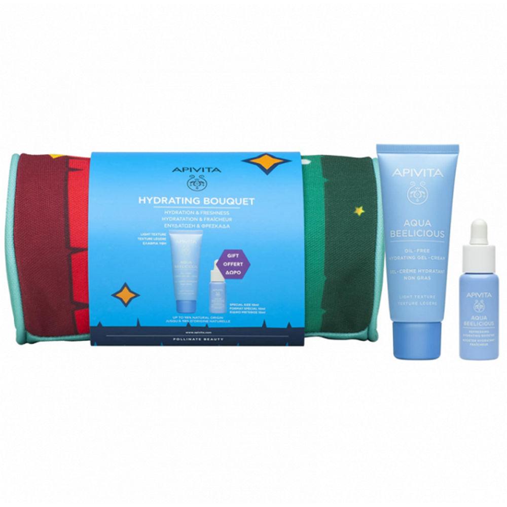 Apivita Promo Aqua Beelicious Hydrating Bouquet Light Texture Gel-Cream 40ml & Δώρο Booster 10ml