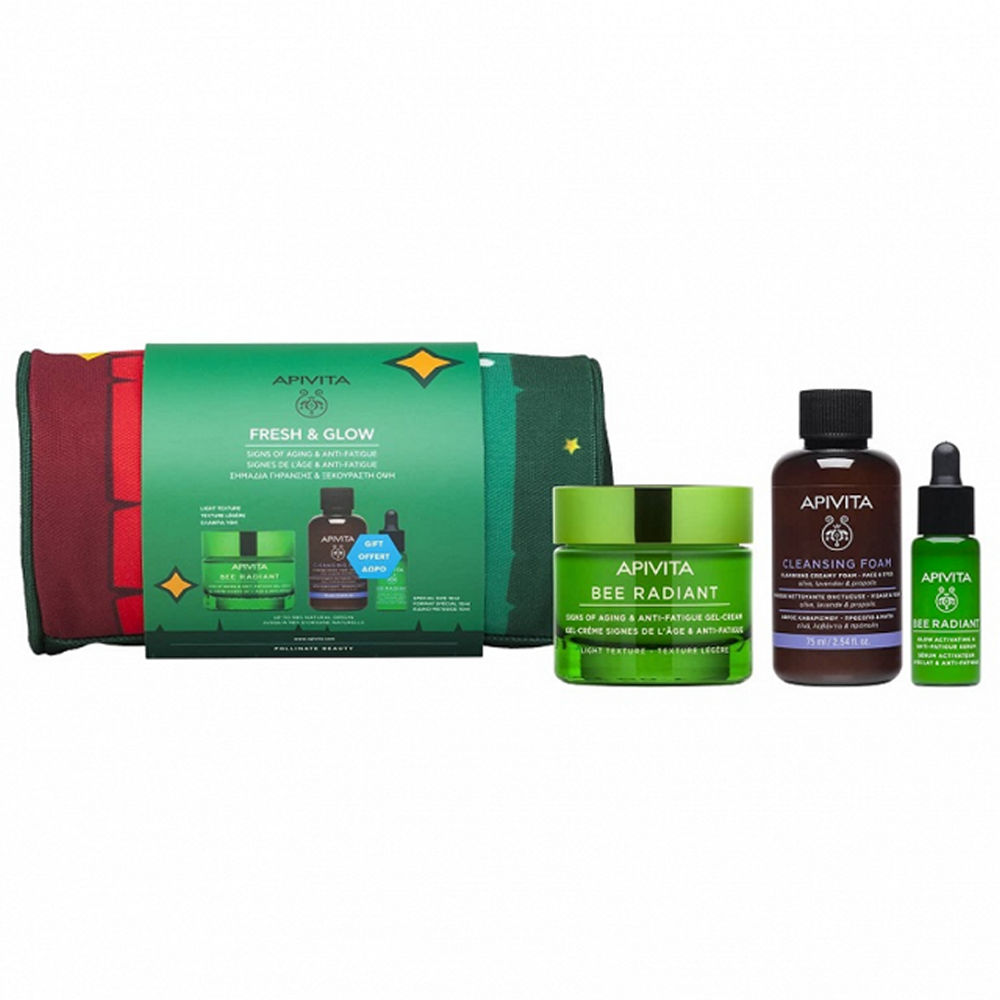 Apivita Promo Fresh & Glow Bee Radiant Gel-Βalm 50ml