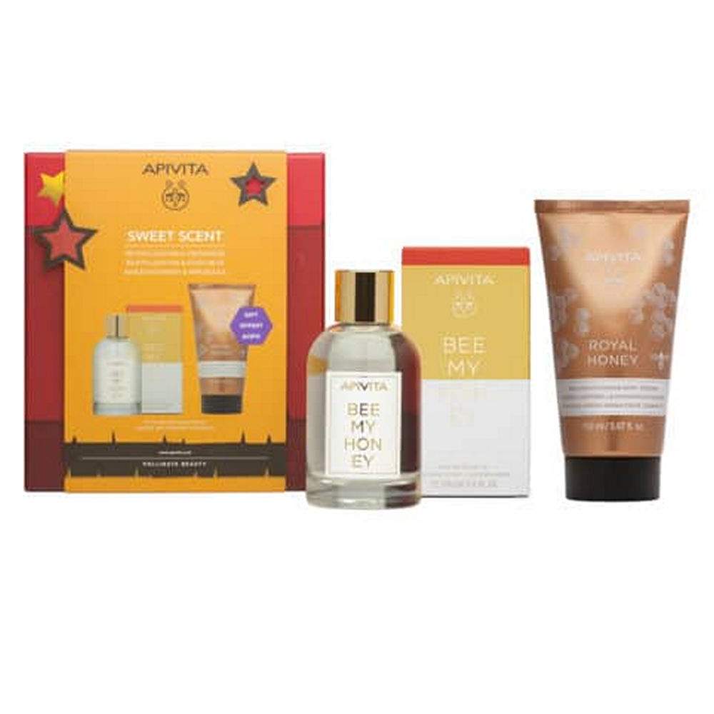 Apivita Promo Parfum Bee My Honey 100ml And Body Milk Honey 150ml