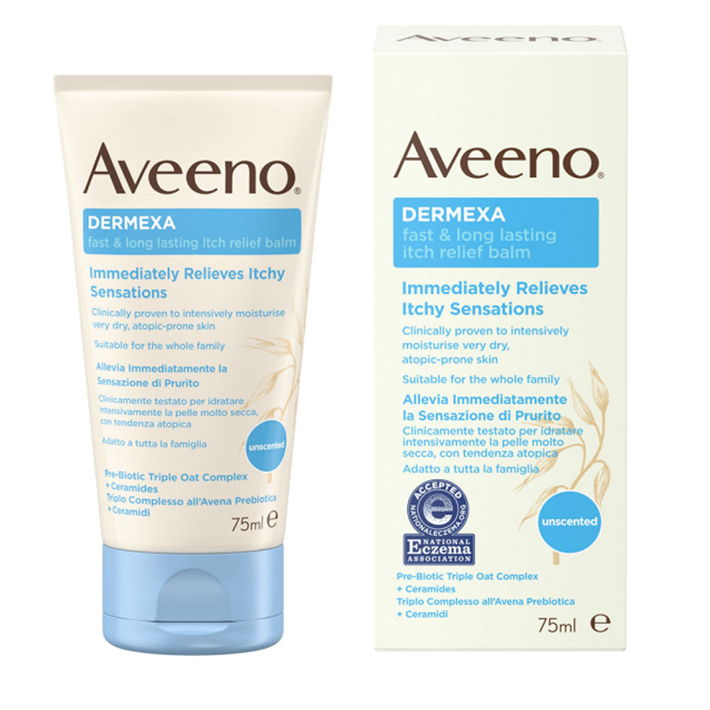 Aveeno Dermexa Fast & Long Lasting Itch Relief Balm 75ml