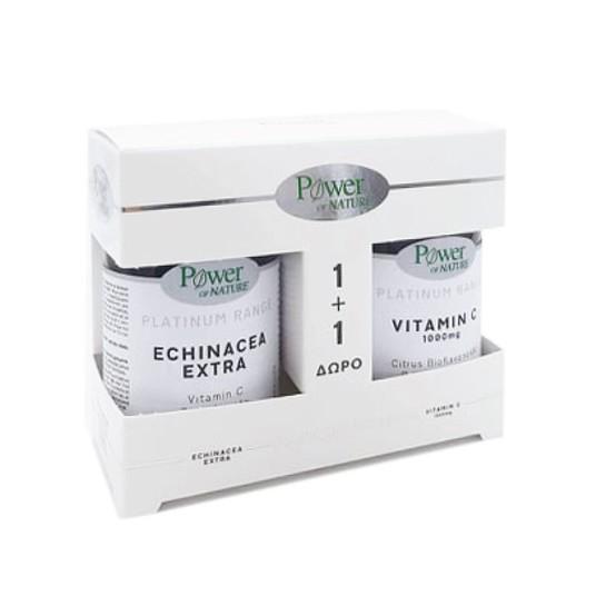 Power Of Nature Promo Platinum Range Echinacea Extra 30 + vitamin C δωρο