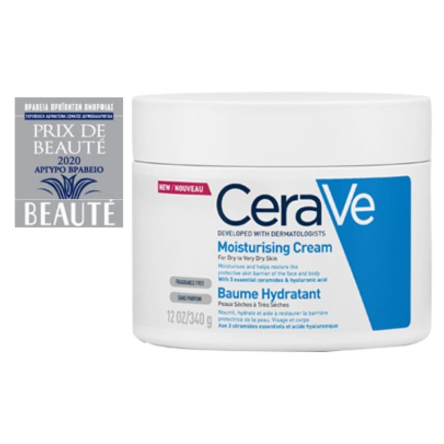 cerave moist cream 340ml